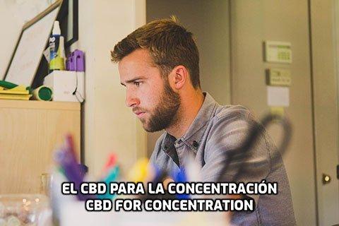 El CBD para la Concentración
