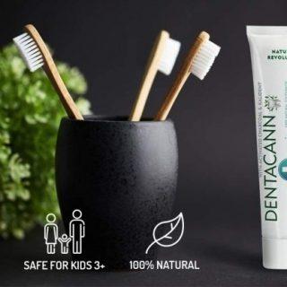DentacannToothpaste with hemp oil
