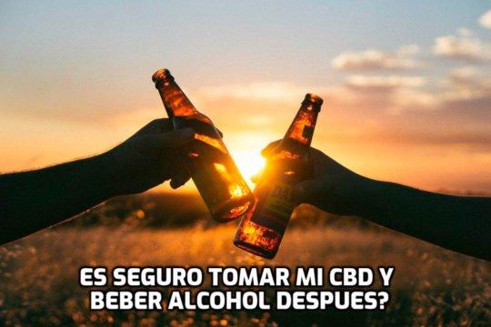 CBD y el alcohol