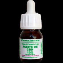 (30ml) 10% full spectrum cbd oil Laboratorios canalanza