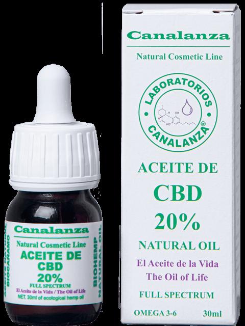30ml cbd oil 20% thc canalanza