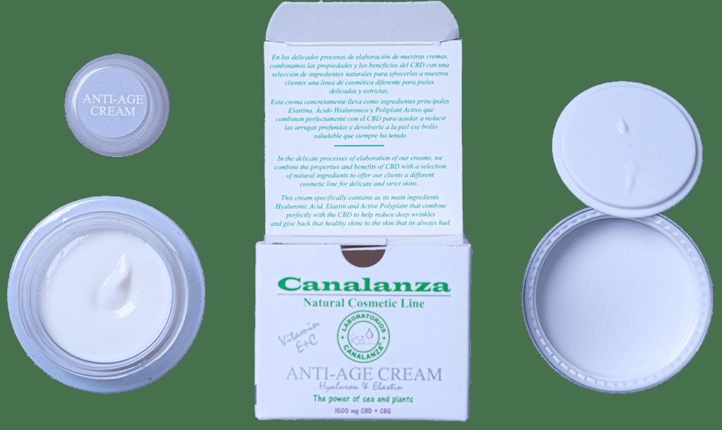 anti-age cream canalanza