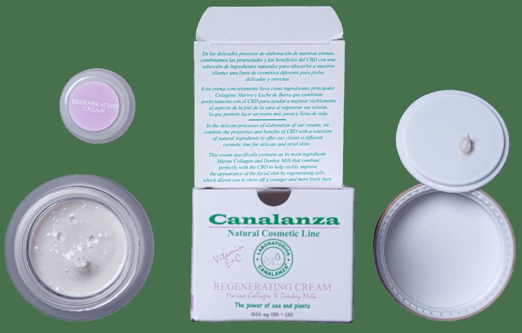 regenerating cream donkey milk